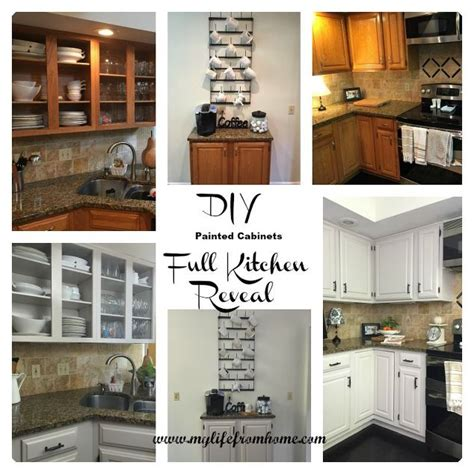 Diy Painted Kitchen Cabinets  Hometalk