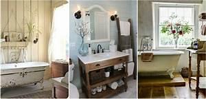 decoration salle de bain campagne With salle de bain style campagne