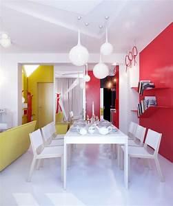 Idee Deco Salle A Manger Moderne : id e d co salle manger salle manger originale et moderne ~ Teatrodelosmanantiales.com Idées de Décoration