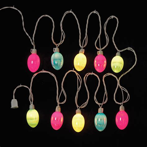 easter lights decorations easter egg string lights pearlized pattern