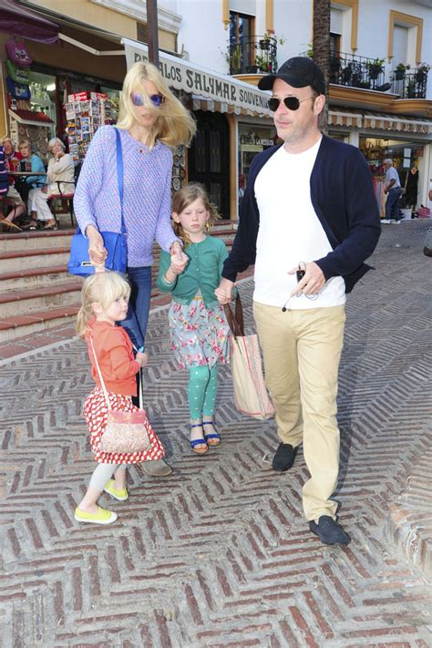 claudia schiffer and family matthew vaughn photos photos claudia schiffer shops with