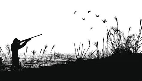 Duck Hunting Clip Art, Vector Images & Illustrations