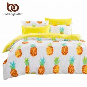 Housse De Couette Ananas : achetez en gros ananas literie en ligne des grossistes ananas literie chinois ~ Teatrodelosmanantiales.com Idées de Décoration