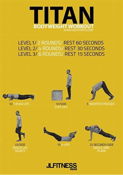 Bodyweight Workout Workouts Titan Emom Bodybuilding Exercises