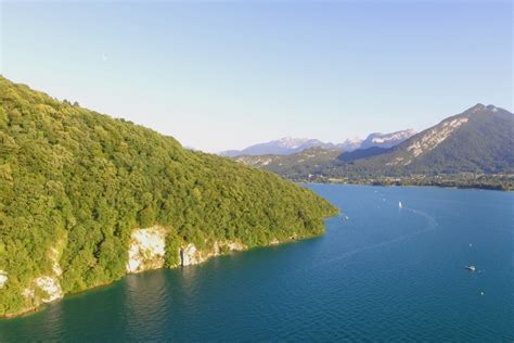 Lac Dannecy Annecy Lake Haute Savoie France
