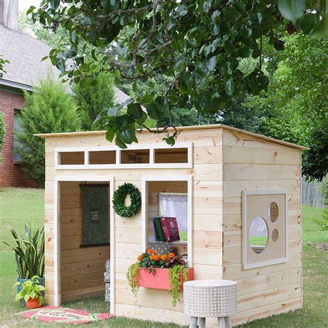 playhouse plans  kids  love