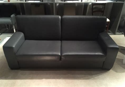 canapé cuir soldes canapé convertible neuilly couchage quotidien cuir gris
