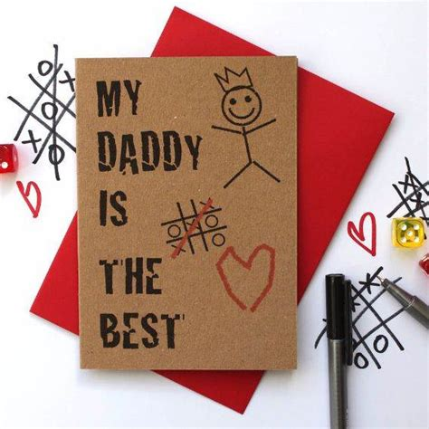 homemade fathers day card ideas family holidaynetguide