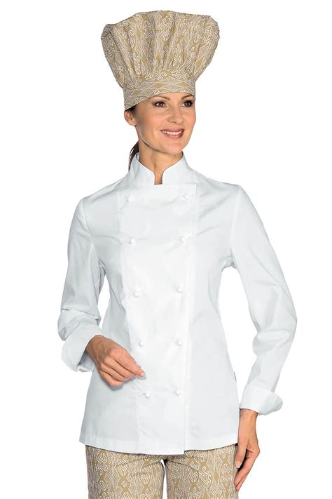 cuisine de femme veste de cuisine femme ultra légère blanc vestes de