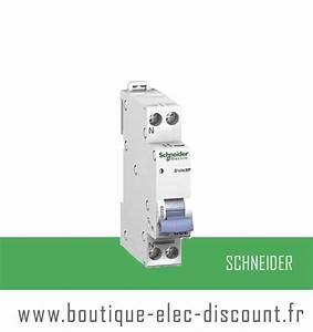 Disjoncteur Schneider 16a : disjoncteur 16a avec vis r f 20726 schneider materiel ~ Melissatoandfro.com Idées de Décoration