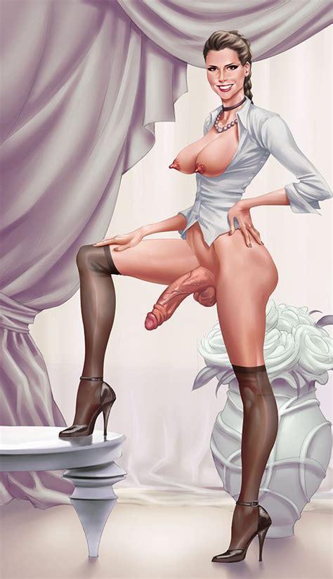 Rino99 Futanari Dickgirls Porn Drawings12 Stocking