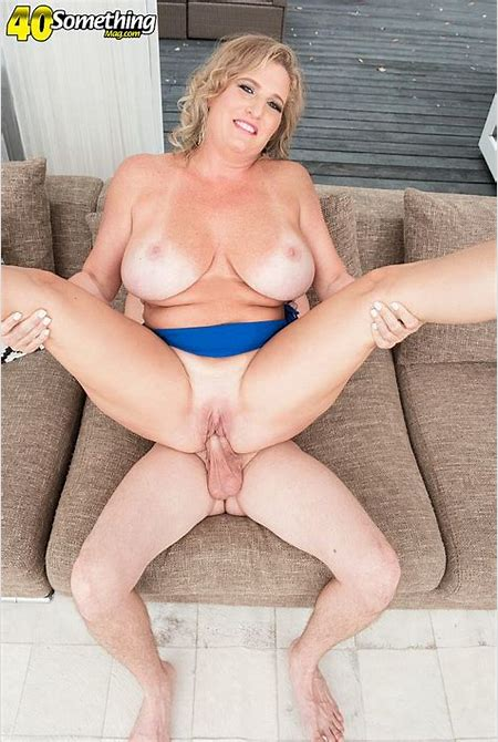40 Something - Busty MILF Candace's first time - Candace Harley and Tony Rubino (60 Photos)