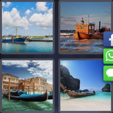 Un Barco 4 Fotos 1 Palabra by 4 Fotos 1 Palabra Barco En La Playa Mar Puerto Muelle