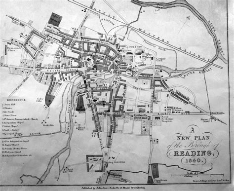 Exploring Fascinating Old Maps Of Reading