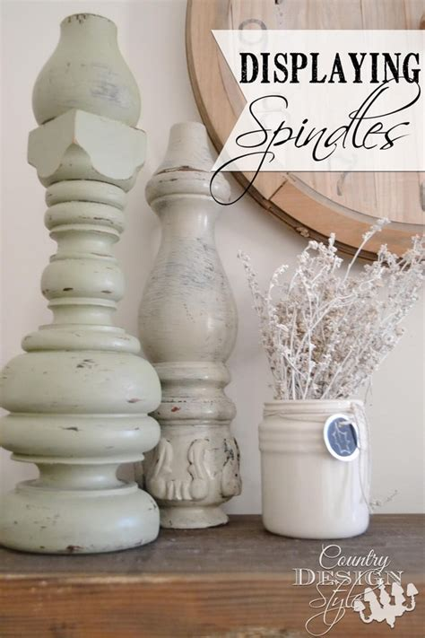 cool reused spindle ideas  add  unique touch   home  art  life