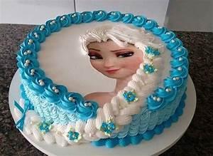 21 Disney Frozen Birthday Cake Ideas and Images - My Happy