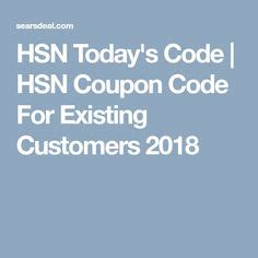 hsn coupon code images hsn coupon home shopping