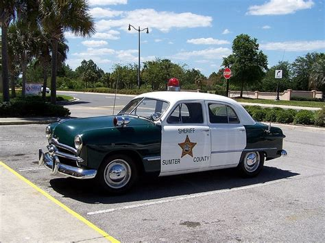 sumter county sheriffs office antique ford patrol car