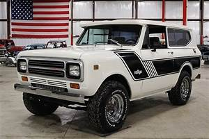 Winter White 1980 International Scout Ii For Sale