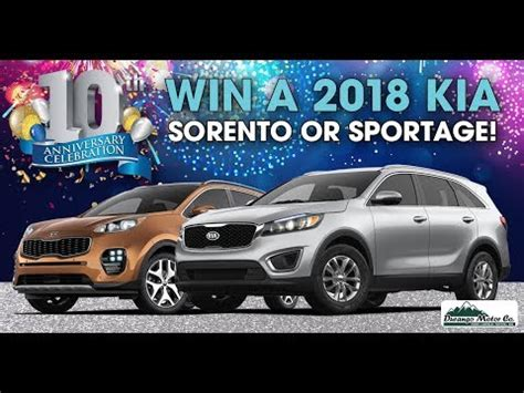win   kia sorento  sportage youtube