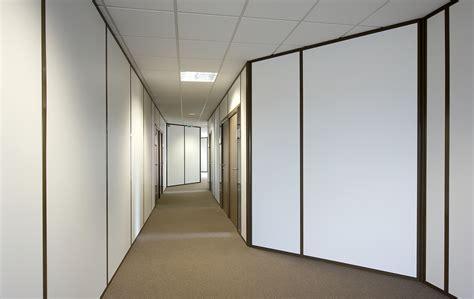 chambre acoustique les cloisons pleines toute hauteur aluminium espace
