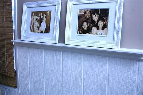 Beadboard Styles : How To Build A Wainscot Picture Rail