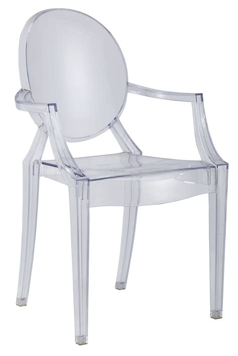 chaise design transparente chaise transparente avec accoudoir 28 images chaise