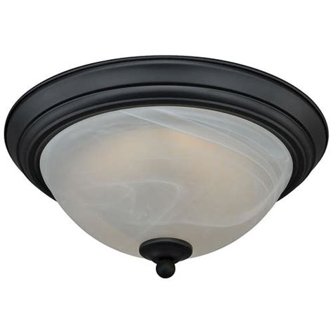 Menards Flush Ceiling Lights by Payton 11 Quot Rubbed Bronze 60 Pc Led Ceiling Light At