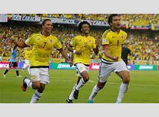 11 jugadores de Colombia con riesgo de sanción en