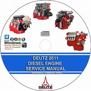 Deutz 2011 Series Diesel Engine Service Repair Manual On