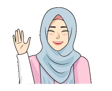 creators stickers gorgeous hijab girl  animated