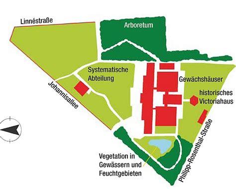 Linnestraße Leipzig Botanischer Garten by Standortkarte Botanischer Garten Leipzig Grafik