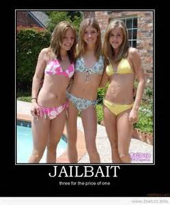 Jailbait Memes - jailbait three for the price of one teen girls pinterest third