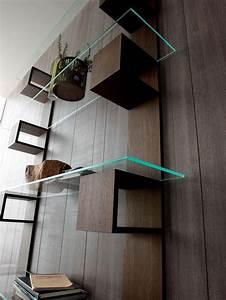 Bibliotheque Verre : infinity biblioth que en bois et verre idd ~ Voncanada.com Idées de Décoration
