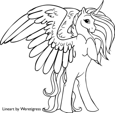 pony unicorn coloring pages getcoloringpagescom