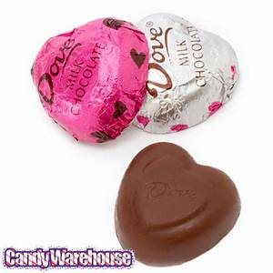 Dove Milk Chocolate Hearts | CandyWarehouse.com