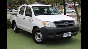 B5071 - 2005 Toyota Hilux Workmate Manual Review