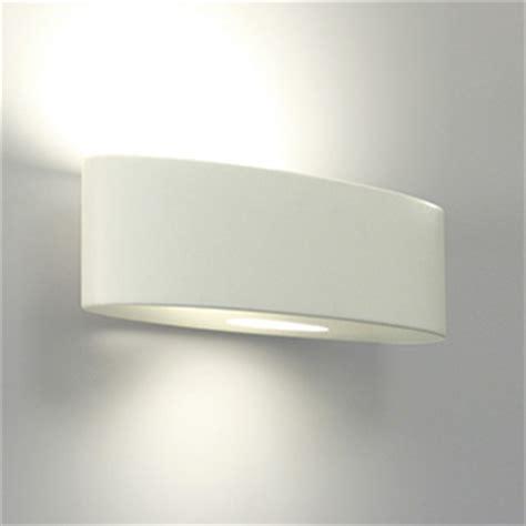 astro lighting ovaro modern white ceramic wall light