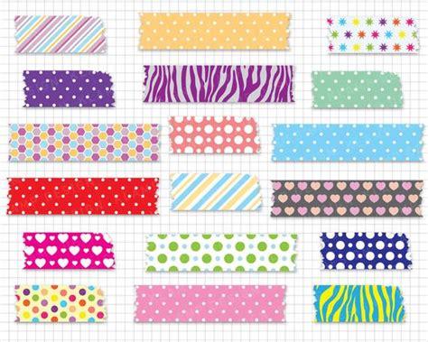 digital washi tape washi tape clipart digital scrapbook