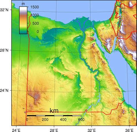 Egypt Topography