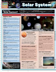 Solar System Laminated Reference Guide  U2013 The Economist