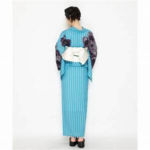 Japan Trend Shop | Retro Modern Anemone Yukata