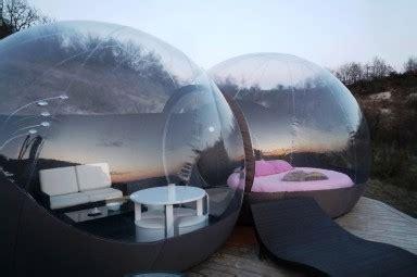 chambre bulle paca nuit insolite hébergement vacances originales