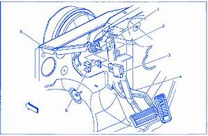 Chevrolet Tahoe 5 3 2001 Top Of Brake Pedal Electrical Circuit Wiring Diagram  U00bb Carfusebox