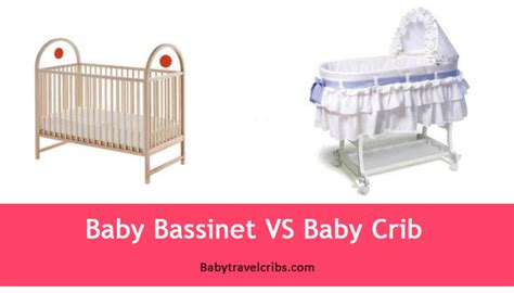 crib vs bassinet baby bassinet vs baby crib what to choose for your baby