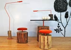 Cool Furniture Built From Logs
