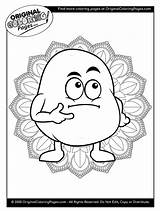 Coloring Pages Potato Potatoes sketch template