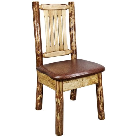 log dining chairs kitchen chairs bar stools rustic