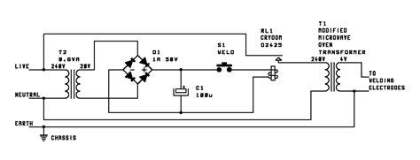Welding Transformer Wiring Diagram by Teralab Spot Welder Electronics