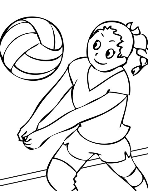 Sports Coloring Pages For Kids